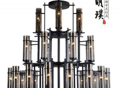 新中式灯具 现代中式吊灯 合肥新中式吊灯代理