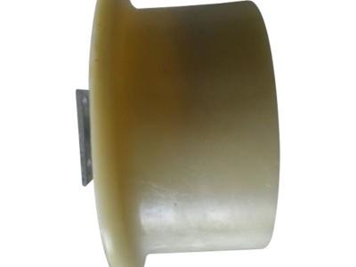 铁路梯车轮子MC稀土尼龙轮 接触网刚性梯车轮子滑轮