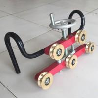 铁路专用手动五轮校直器机械式五轮矫正器电力厂家直销
