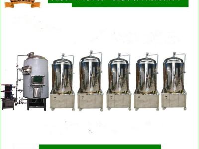 日产350升精酿啤酒设备小型啤酒设备