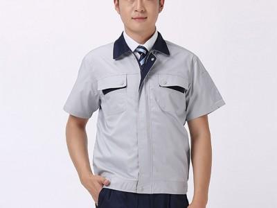 深圳工作服定制夏季薄款纯棉防烫耐磨工装电焊工作服