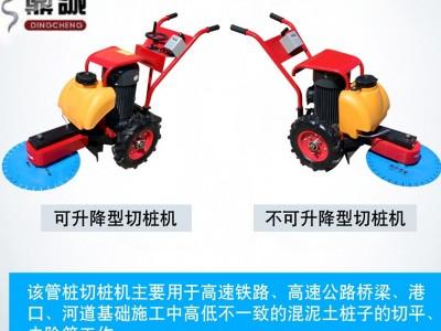 鼎诚DCQZ-600电动切桩机 混泥土桩头切割机图片