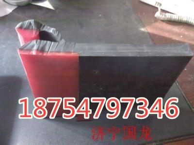 導料槽Y型防溢裙板 防溢裙板尺寸 聚氨酯橡膠擋煤皮