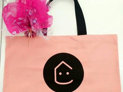 平口式帆布手提袋 可印LOGO环保袋 培训学校招生宣传广告袋