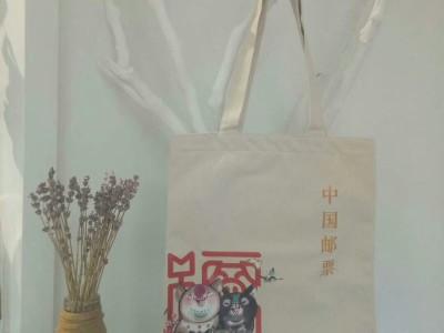 郑州定做帆布培训班补课单肩包帆布手提袋牛仔布水洗彩画购物袋