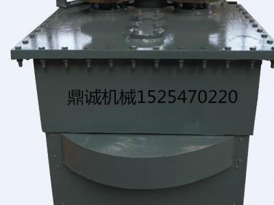 高铁吊篮角铁弯圆机价格 电动80型角钢弯圆机厂家