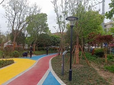 彩色路面喷涂