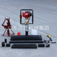 巨匠供应20米取土钻机qtz-3野外取土样器单人可操作无扰动
