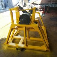 铁路接触网施工放线架 3T接触线放线支架自动刹车功能