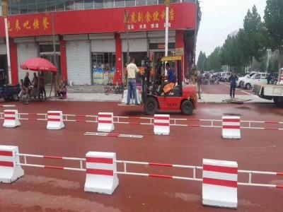 河北北京天津水泥隔离墩定制安装