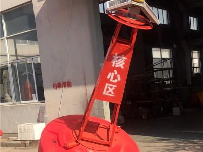 海上大型聚乙烯浮标柱形禁航浮标制造商