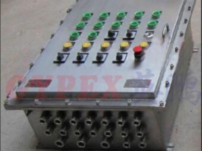 泰兴不锈钢防爆配电箱BXK -67