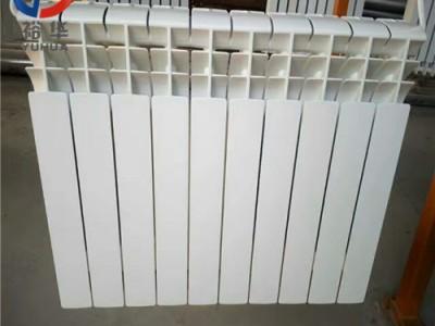 UR7001-500压铸铝双金属双水道散热器_裕华采暖