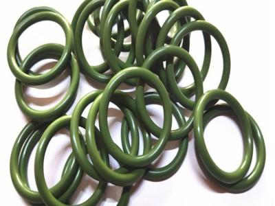 野狼社区必出精品直销氟胶O型密封圈耐高温氟橡胶耐酸碱耐磨损绿色O型密封件