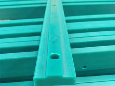 供应高分子聚乙烯耐磨链条导轨 食品机械塑料链条导轨