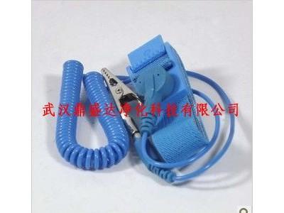 升级品防静电蓝色PU/PVC手碗带武汉专供
