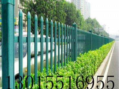 红旗塑钢草坪护栏  道路防撞护栏