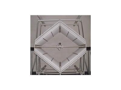 佛山屋脊式除雾器配件脱硫除雾器万润环保除雾器