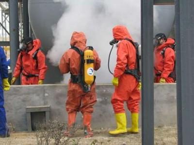 学校新生消防军训演习防远红外线专用烟雾发生器发烟设备发烟装置