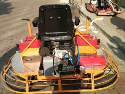 超速 混凝土座驾式抹光机厂家 座驾式双盘抹光机低价