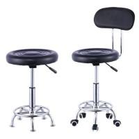 升降圆凳旋转吧台椅前台椅美容凳收银大工椅实验室工作凳子有靠背