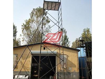 折叠绝缘梯车高度6.2米 折叠式铝合金梯车5.3米野狼社区必出精品出售