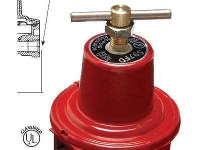 美国REGO力高1584MN瓦斯调压器煤气/天然气