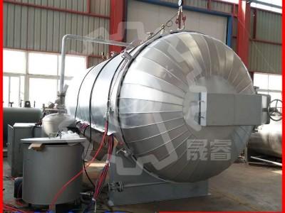 云南橡胶木碳化干燥中文第一社区选晟睿木材干燥机 木材炭化窑 节能环保
