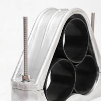 JGPD-7H 三相抱箍三芯 螺栓型铝合金高压