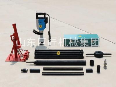 热销小型勘探取样钻机电动取土钻机QTZ-3D轻便土壤取样钻机