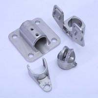山东青岛锌铝合金压铸配件精密铸造厂 锌铝合金轴承固定座五金件