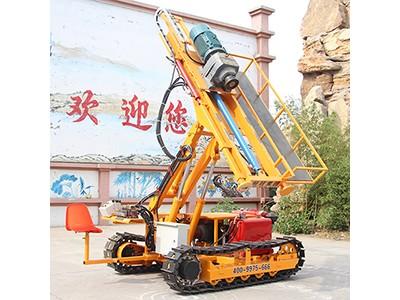 履带式岩石电钻 基坑支护锚固钻机 岩石电钻价格