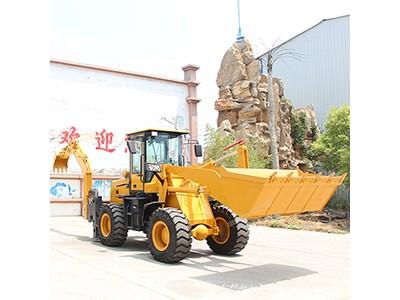 现货小型挖掘装载机 工程两头忙 装载挖掘机价格