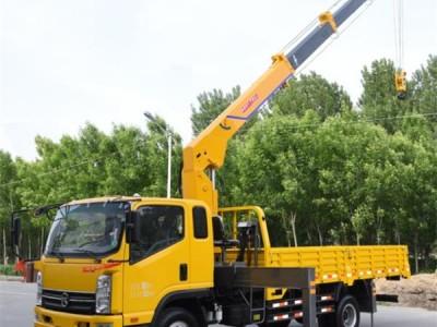 供应小型5吨凯马国五直臂式4节臂随车吊起重运输车可定制