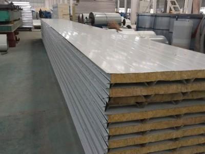 江苏恒海彩钢聚氨酯阻燃彩钢夹芯板