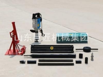 直供小型勘探取样钻机电动取土钻机QTZ-3D轻便土壤取样钻机