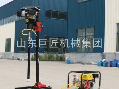 厂家热销地质勘探钻机BXZ-2L立架背包钻机使用方便厂家