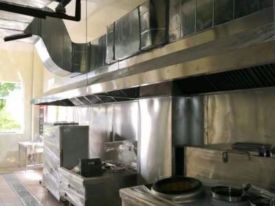 白铁油烟管道,厨房设计安装,厨具设备,环保油烟静化器安装
