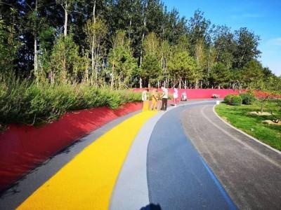 彩色路面 彩色道路工程材料
