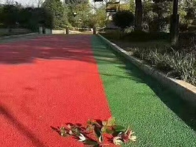 云南观景步道 道路美化 快速改色成本低