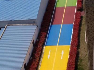 彩色路面喷涂彩色沥青路面颜色修复