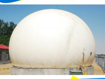 全新式双膜储气柜干式气柜见效迅速耐老化让养殖场变粪为金