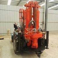200米气动水井钻机 轮式气动钻机 小型气动钻井机
