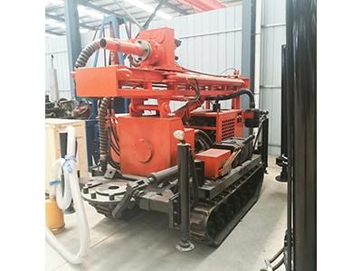 履带式气动钻机 HQZ-180L液压气动打井机 -