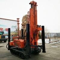220米履带气动水井钻机 小型气动打井机 潜孔钻机