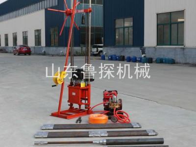 QZ-2CS取样勘探钻机 轻便岩心钻机卷扬机提钻更方便