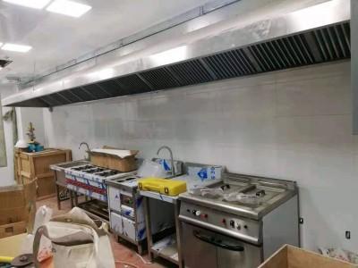 白铁通风,厨房设计安装,厨具设备,环保油烟静化器安装