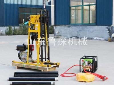 YQZ-50A轻便液压钻机 小型液压勘探取样钻机打50米深