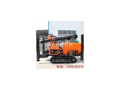 FY-200履带式气动水井钻机 快速钻水井设备气动潜孔钻机