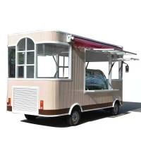 移动小吃车房车电动s四轮餐车多功能美食车超市车